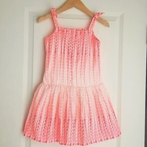 NWT Gymboree Coral Dots Easter Sun Dress